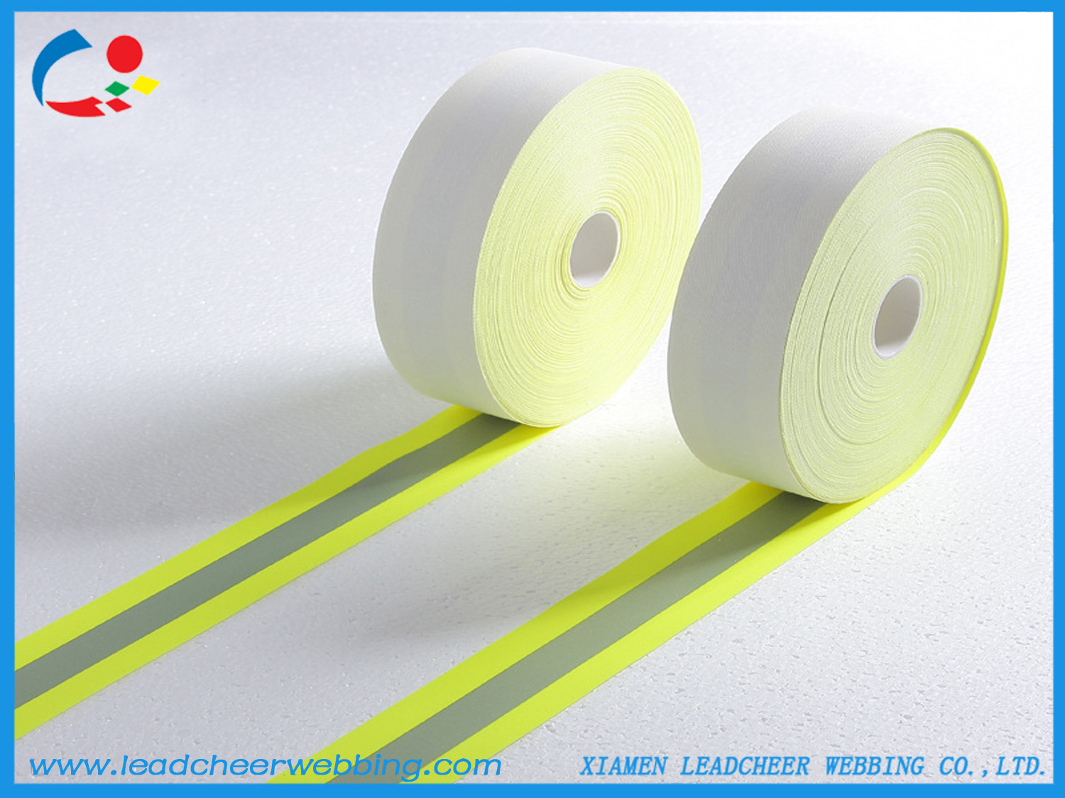 fire resistant reflective fabric tapes