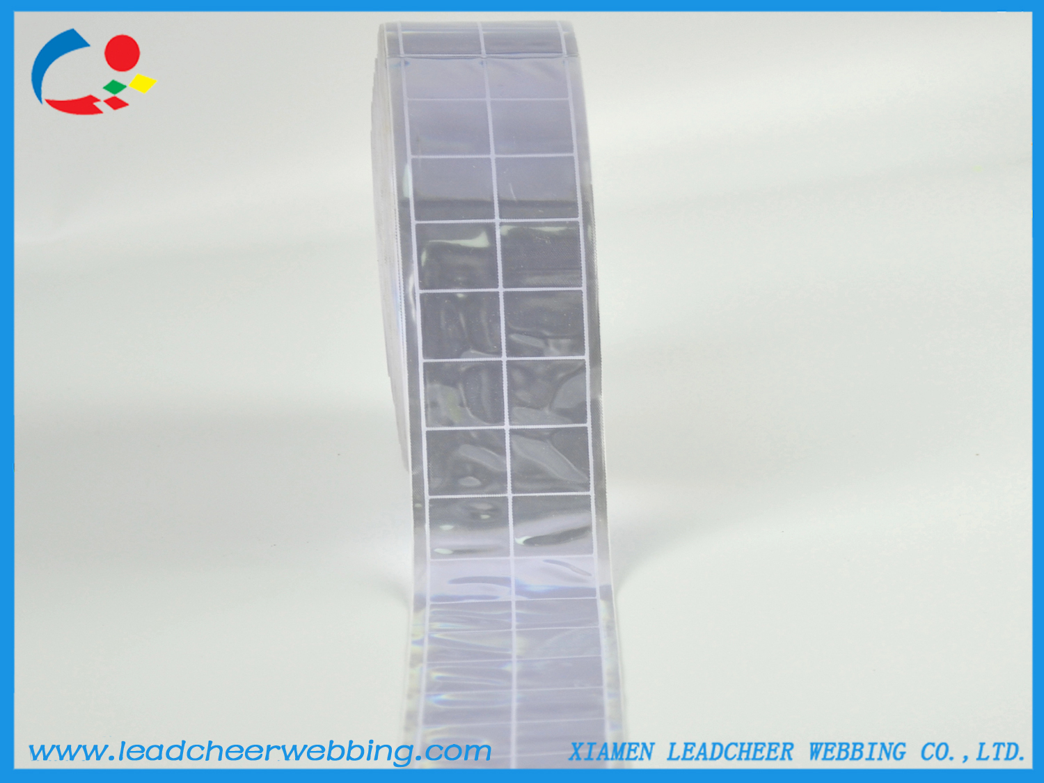 Warning PVC Reflective Crystal Lattice