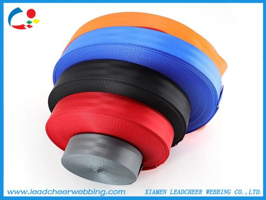 polyester seat belt webbing for car safety belts